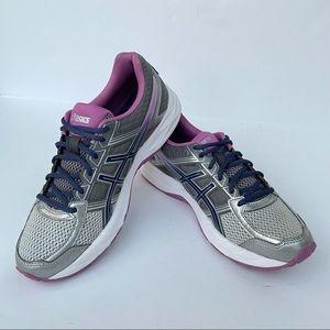 ASICS GEL CONTEND 4 Women's Running Shoes Silver